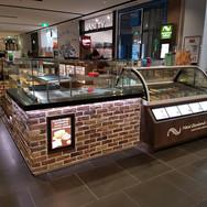 Shopfitting Brisbane cafe fit out Mrs Fields Palmerston