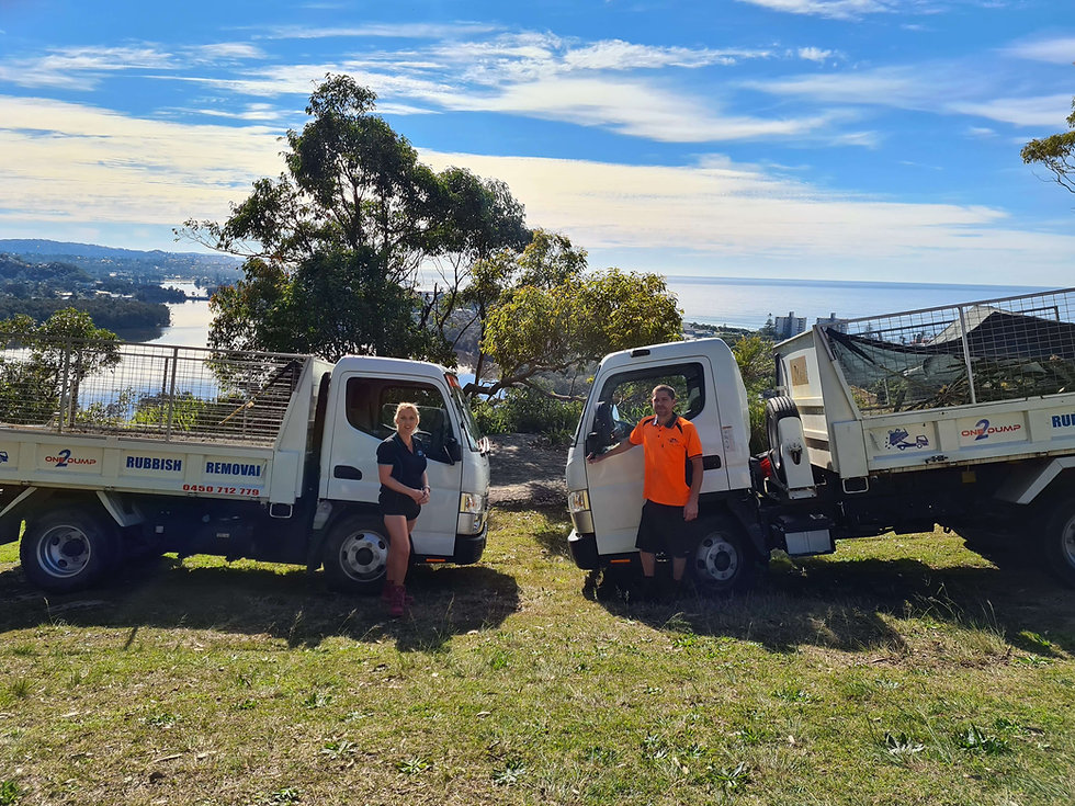 rubbish removal on Northern beaches, Syd