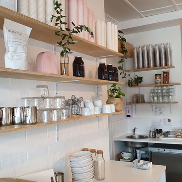 cafe fitout by Brisbane Shopfitter G & K