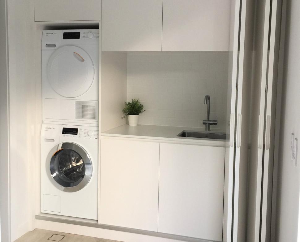 Laundry Renovation - Castlecrag on Sydney's North Shore