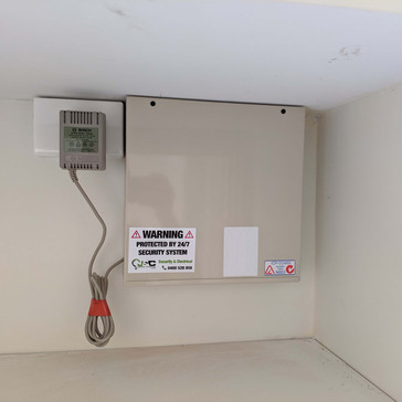 alarm install by Perth electrician (5).j
