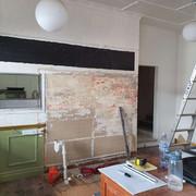 cafe shop fit out Brisbane before photos