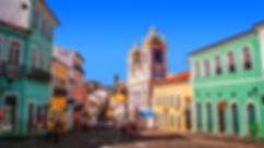 Pelourinho Salvador street.