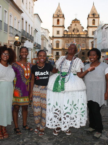 Black Salvador Walking Tour