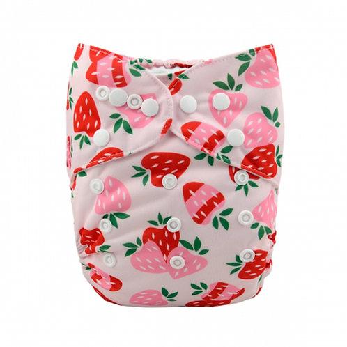 ALVA OS Pocket Diaper - Strawberry Sundae