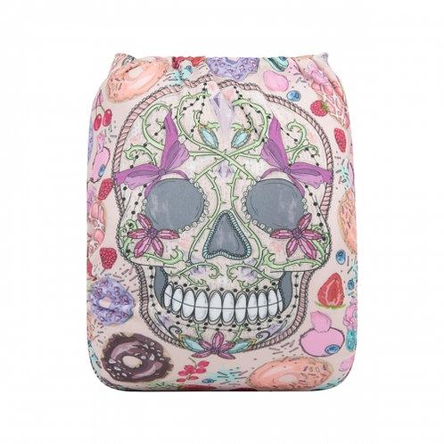 ALVA OS Pocket Diaper - Sweet Skulls