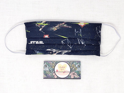 Cloth Face Mask - Star Wars Fighters