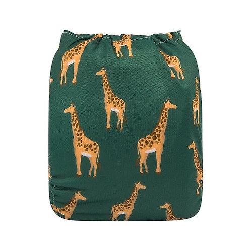 ALVA OS Pocket Diaper - Giraffe