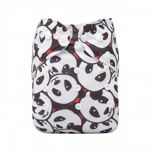 ALVA OS Pocket Diaper - Friendly Pandas