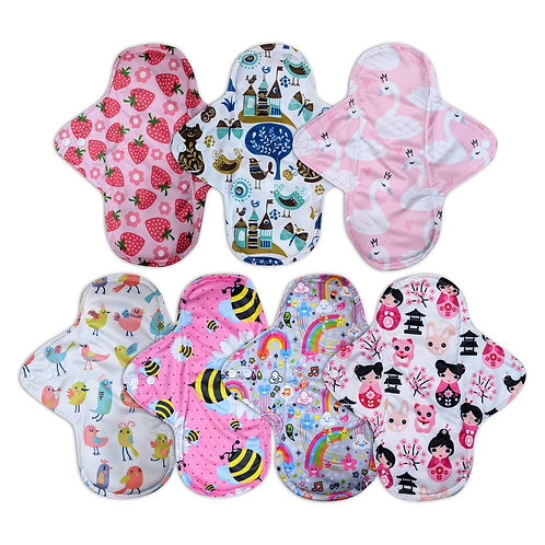Cloth Pads - Heavy Flow - Pack of 3