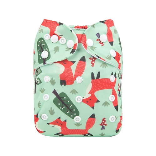 ALVA OS Pocket Diaper - Spring Fox