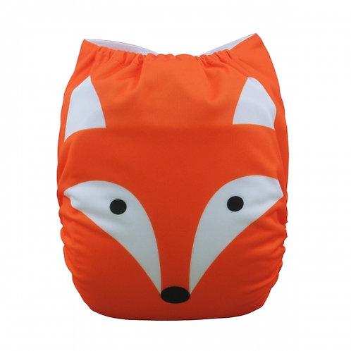 ALVA OS Pocket Diaper - Big Red Fox