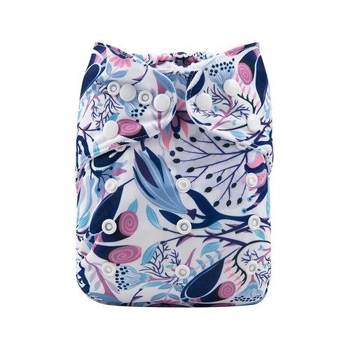 ALVA OS Pocket Diaper - Blossom