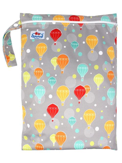Babyland Small Wet Bag - Hot Air Balloon