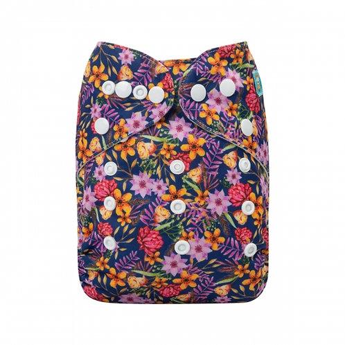 ALVA OS Pocket Diaper - Tiny Flowers