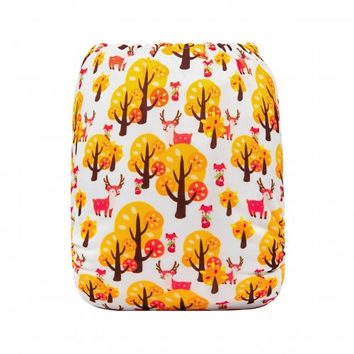 ALVA OS Pocket Diaper - Autumn