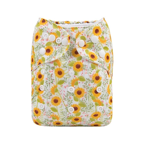 ALVA OS Pocket Diaper - Sunflower Field
