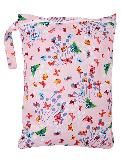 Babyland Small Wet Bag - Pink Butterflies
