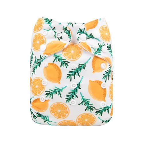 ALVA OS Pocket Diaper - Lemon