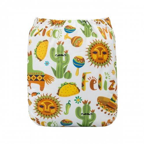 ALVA OS Pocket Diaper - Feliz Mexico