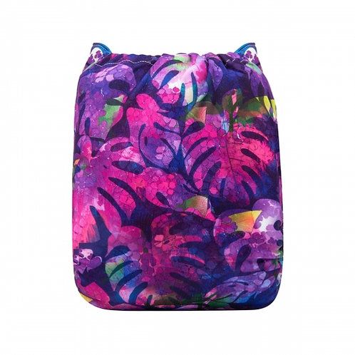 ALVA OS Pocket Diaper - Vibrant Leaves