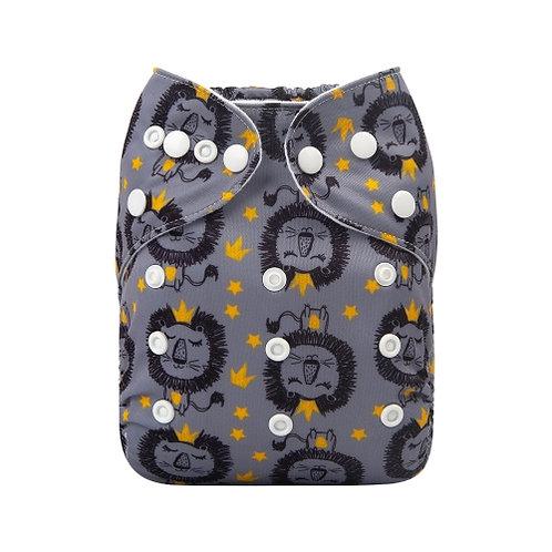 ALVA OS Pocket Diaper - Tiger King