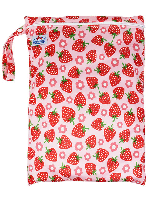Babyland Small Wet Bag - Strawberry