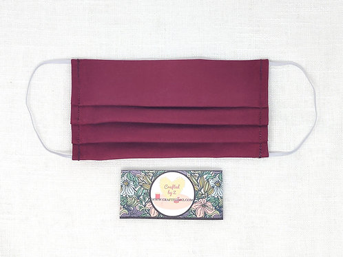 Cloth Face Mask - Red