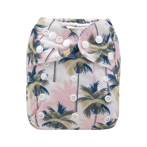 ALVA OS Pocket Diaper - Palm Trees