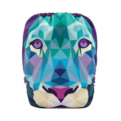 ALVA OS Pocket Diaper - Geometric Lion