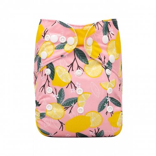 ALVA OS Pocket Diaper - Pink Lemon