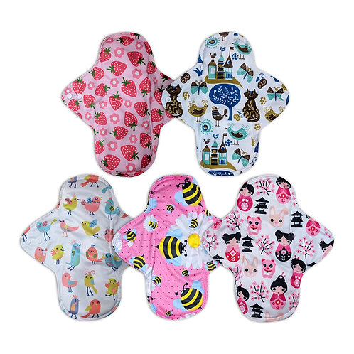 Cloth Pads - Light Flow - Pack of 3