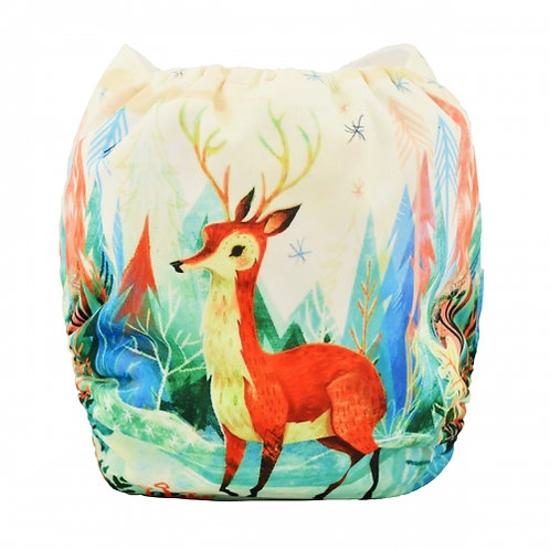 ALVA OS Pocket Diaper - Wild Deer