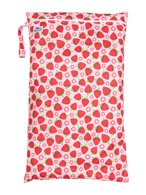 Babyland Large Wet Bag - Strawberry