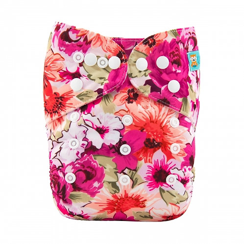 ALVA OS Pocket Diaper - Bouquet