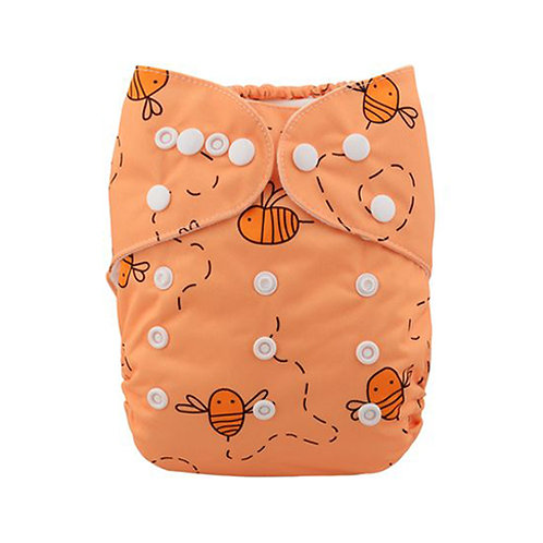 ALVA OS Pocket Diaper - Simple Bees
