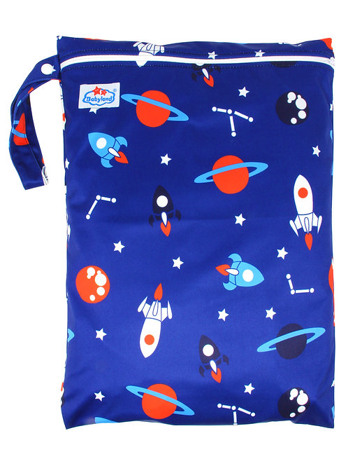 Babyland Small Wet Bag - Space