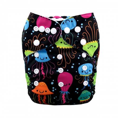 ALVA OS Pocket Diaper - Jolly Jellyfish