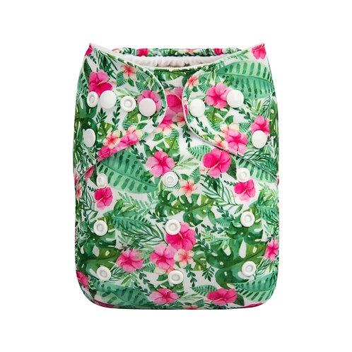 ALVA OS Pocket Diaper - Tropical Forest