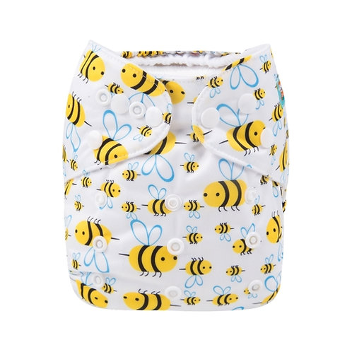 ALVA OS Pocket Diaper - Bees