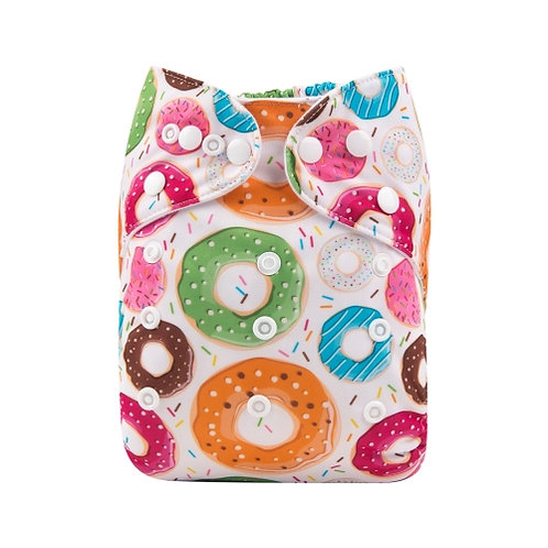 ALVA OS Pocket Diaper - Colorful Donuts
