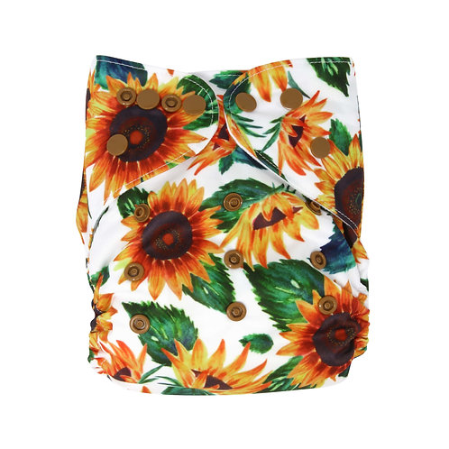 "Greener Odyssey OS Pocket Diaper ""Sunflora"""