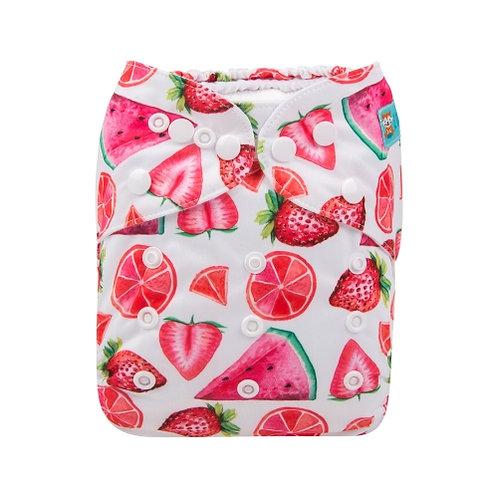 ALVA OS Pocket Diaper - Red Fruits