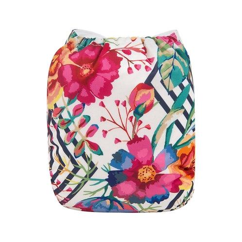 ALVA OS Pocket Diaper - Geometric Floral