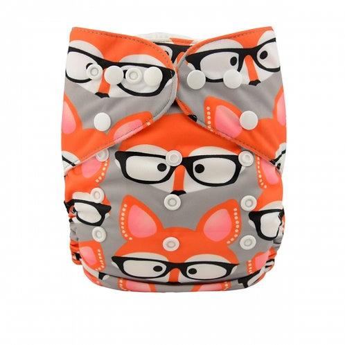 ALVA OS Pocket Diaper - Cool Fox