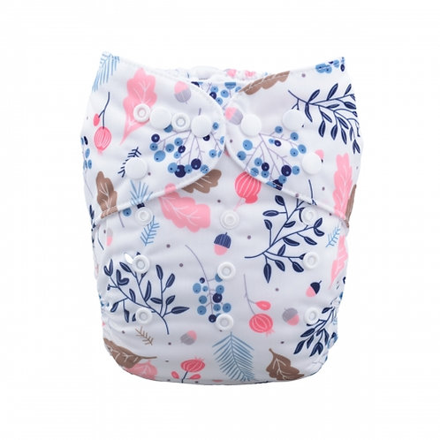 ALVA OS Pocket Diaper - Fall Flowers