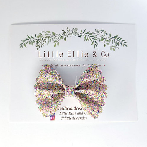 Glitter Bow - Confetti Birthday