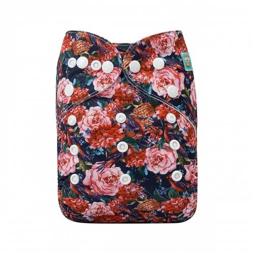 ALVA OS Pocket Diaper - Roses