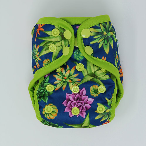 "Greener Odyssey NB Diaper Cover ""Su-cute-lents"""