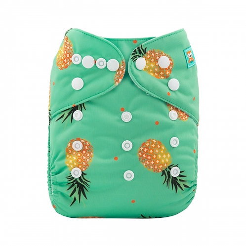 ALVA OS Pocket Diaper - Pineapple Paradise